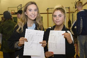 Leah Cuthbert and Georgia Richie. Click on the image above or link below to launch our  GCSE gallery from Ulidia