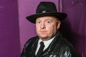 Larne Drama Circle's 'Herr Flick of the Gestapo' who will be on stage in their production of Allo Allo from February 20-22.