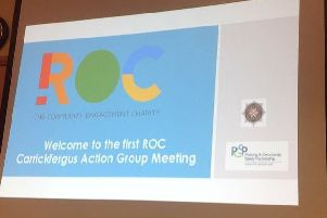 The first meeting of the ROC Carrickfergus Action Group took place last Thursday.