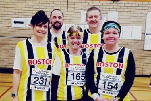 The Boston Community Runners at Long Sutton.