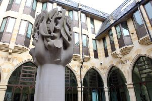 guildhall courtyard