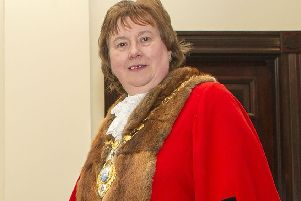 The Mayor of Mid and East Antrim, Cllr Maureen Morrow.