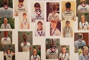 Kenilworth Explorer Scouts going to the World Jamboree in the USA