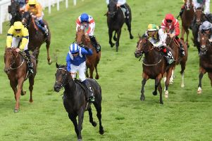 Khaadem and Jim Crowley streak to victory in the Stewards' Cup / Picture by Getty Images