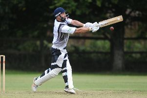 Slinfold's Dan Smith topscored with 57 against Horsham 2nd XI. Picture by Steve Robards
