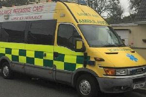 The charity has helped fund an ambulance with Glengormley Ambulance and Rescue Unit.