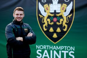Dan Biggar is loving life at Saints