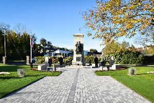 Larne War Memorial.