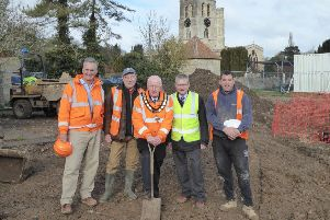 Thame Cricket Club - work begins on new clubhouse