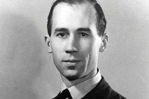 A wartime portrait of Squadron Leader Robin Hooper. Picture courtesy of Tangmere Military Aviation Museum