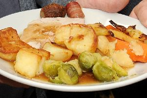 It is estimated that the annual Christmas Day dinner contains almost 2,000 calories