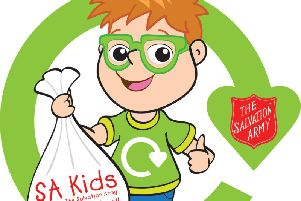 'Recycle with Michael' is a new initiative by The Salvation Army which aims to encourage schools to donate unwanted clothes and schools