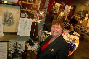 Market towns museums manager for Leicestershire Council, Zara Matthews, at Melton Carnegie Museum EMN-190129-150711001