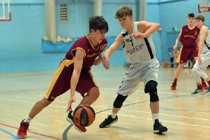Action from Thunder Cadet Boys against Worcester Wolves. Picture by Dave Ikin