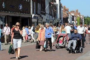 North Street, Chichester. Photo by Kate Shemilt