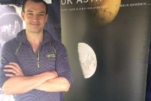 UK Astronomy's stand at a previous edition of the Buckingham Fringe