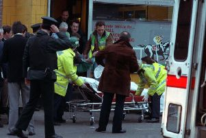 Five men were killed when UFF gunmen targeted a bookmakers shop on Belfast's Ormeau Road in February 1992