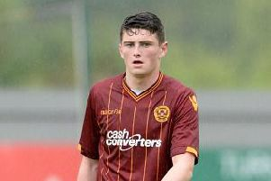 Motherwell's Jake Hastie (Photo by Christian Cooksey/Getty Images)
