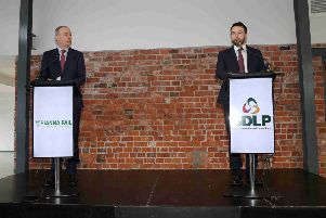 SDLP leader Colum Eastwood has struggled to articulate why his party is entering a 'policy partnership' with Fianna Fail