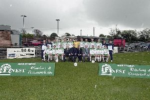 A team line-up from the early part of the 2000s