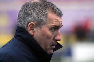 Banbury United manager Mike Ford took some positives from defeat