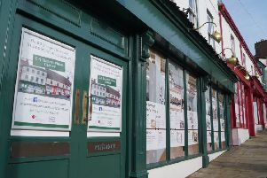 The regeneration of 2-4 Market Place is the main focus for Caistor and District Community Trust