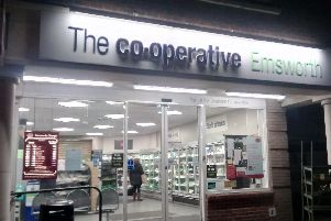 The Co-op in Emsworth High Street