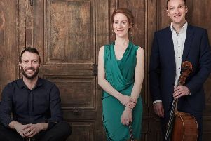 Members of the Heath Quartet