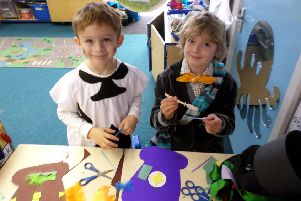 The children enjoyed creating there mad hats