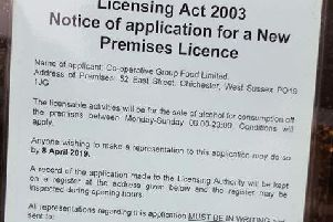 Co-op licensing application