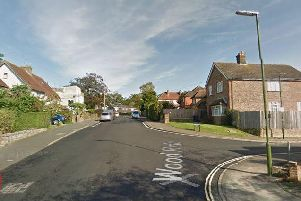 The incident happened near the junction of Wood Ride and Ryecroft in Haywards Heath. Picture: Google Streetview