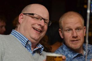 Bognor beer festival - Darren Judd (left) and Jason Dalton (right)