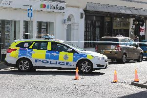 Police incident in Lennox Street, Bognor