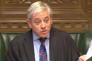 Speaker of the House of Commons John Bercow