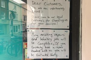 Phone Boss in East Street, Chichester, has closed down