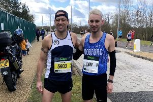 World record holders Paul and Josh Lunn.