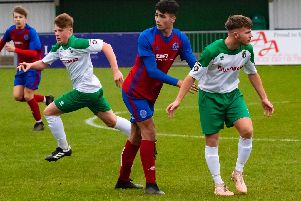 The young Rocks in action earlier in the season / Picture by Tommy McMillan