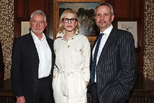 Martin Shaw, Cate Blanchett and Joe Harmston - photo by Marilyn Kingwill