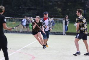 There was a diverse range of sports played at the Chichester-Winchester varsity day / Picture by Jordan Colborne