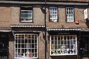 The store in North Street