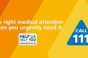 Get the right medical attention when you urgently need it - call 111