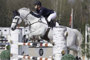 Holly Truelove and Rexter D'Or in action in Belgium EMN-190415-092118002