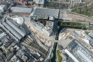 View of London King's Cross. Passengers advised to check before they travel as East Coast Main Line investment programme ramps up. EMN-190417-115742001