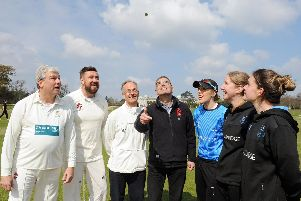 The all-important toss / Picture by Kate Shemilt