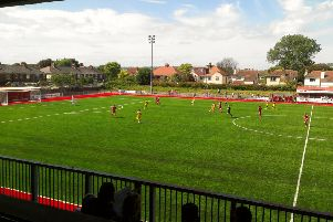 The 3G pitch at Worthing FC SUS-160217-171501002
