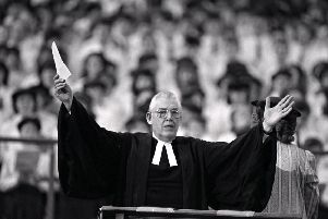 Rev Ian Paisley founded both the Free Presbyterian Church and the DUP