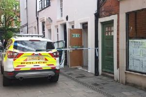 Police incident in Chichester