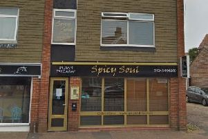 An application has been made for a residential flat to be built above Indian restaurant Spicy Soul, which could soon be turned into a Chinese takeaway, at 11 Adelaide Road, Chichester. Photo: Google Street View SUS-190530-085945001