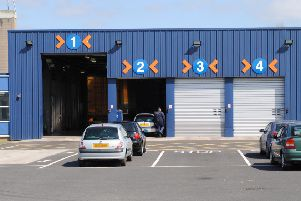 There are long delays at MOT testing centres across Northern Ireland