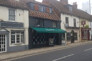 Woodies brasserie and bar in St Pancras, Chichester